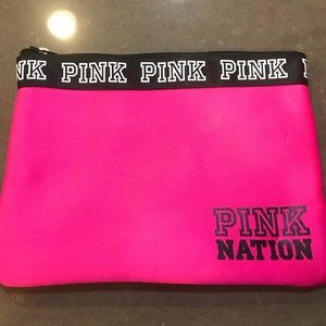 VS Pink Neoprene Wet/Dry Beach Bag